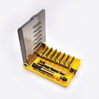 инструменты для ремонта ячеек для мобильных телефонов оптовых-45 в 1 ремонт открытие набор инструментов Pentalobe Torx отвертка для мобильного телефона , мобильный телефон, iPhone Samsung, Ipad