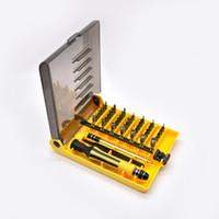 Wholesale 45 Screwdriver Torx - 45 in 1 Repair opening Tool Kit Pentalobe Torx Screwdriver for Cell Phone , Mobile Phone, iPhone Samsung, Ipad