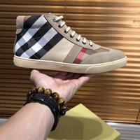 оригинал оптовых-Бренд роскошные мужская мода кроссовки обувь роскошные Мужская обувь оригинальный дизайнер идеальное восстановление Повседневная обувь подлинная обувь высокая для мужчин s