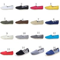 Wholesale plastic canvas kids - 2018 new Baby Shallow mouth canvas shoes children casual shoes kids Lazy shoes C2397