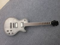 Wholesale Grey Electric Guitars - Axcess Electric Guitar, Light Grey, Satin Back, Black Hardware, Customized guitar