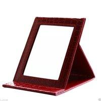Schönheit & Gesundheit Led Platz Make-up Spiegel Faltbare Doppelseitige Abs Hd Spiegel Make-up Werkzeuge Dropshipping