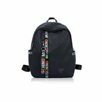 b21ca0e84f Zaino delle donne dello zaino del progettista più nuovo per le ragazze  adolescenti con le borse di Colleage del tessuto di Oxford della doppia  chiusura ...