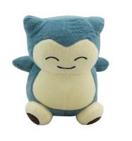 """sacos de dormir do personagem de banda desenhada venda por atacado-Alta Qualidade Snorlax Dragonite 6"""" 15cm Plush Doll Bicho de Pelúcia Animais para o bebê Os melhores presentes"""