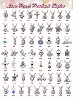 Wholesale stocking charm - Mix 308 Style IN STOCK 18kgp love wish pearl cage Wholesale pendant locket cages Pendants, DIY Pearl Necklace charm pendants mountings