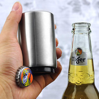 Wholesale beers automatic opener for sale - Group buy Stainless Steel Beer bottle Openers Automatic Bottle Openers Beer Wine Bottle Opener Kitchen Bar Tools Accessories HHA30