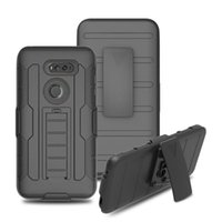Wholesale cover zte grand x - Armor Impact Hybrid Hard Case Cover+ Belt Clip Holster Kickstand Combo Shockproof cases For ZTE Blade X Max Grand X4 Tempo N9131