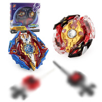 Wholesale new beyblade toys online - New Gyro Beyblade Metal Fushion D Battle Spinning Top Toys Plastic Beyblade Stadium Burst Battle Set