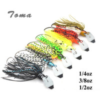 Wholesale metal 14g - 3PCS lot Cheater Swimbaits Spinner Fishing Lures 7g 10g 14g Finesse Chatter Spinnerbait Metal Lure Fishing Bass Bait