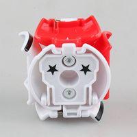 ingrosso tipo trasformatore-Top 4 tipi Pikachu Transformer Ball Lancio automatico della palla di rimbalzo con figure di pikachu carino regalo creativo per bambini DHL gratuito