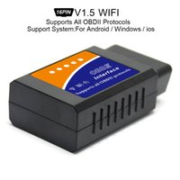 Wholesale ELM327 V1 Super Mini WiFi Scanner Wireless Interface Auto V03HW Interface Code Readers Diagnostic Tool OBDII Protocols CDT_00I