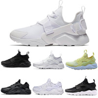 Wholesale nice cheap shoes - Cheap new nice Huarache Classical all White And Black Huaraches Shoes Men Women Sneakers Running Shoes Size 36-45 online sale drop shipping