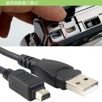 12pin kablosu toptan satış-Olympus kamera için USB erkek 12Pin kamera veri kablosu