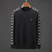 Wholesale best computer brands for sale - new best selling high end casual fashion round neck men s polo sweater brand cotton pullover men s sweater