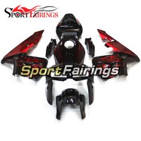 Wholesale motorbike plastics kits for sale - Group buy Complete Fairing For Honda CBR600RR F5 Year New ABS Plastic Motorcycle Fairing Kit Motorbike Gloss Black Red Flame Hulls