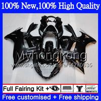 Wholesale dark blue katana - Glossy black Body Motorcycle For SUZUKI KATANA GSXF 650 650F GSX650F 08 09 10 11 12 13 32MY1 GSXF650 2008 2009 2010 2011 2012 2013 Fairing