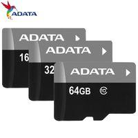 blister ambalaj telefonu toptan satış-Sınıf 10 TF Flash C10 Hafıza Kartı 16 GB 32 GB 64 GB Android Cep Telefonları Kameralar Tablet PC Için SD Adaptörü ile Perakende Blister Paketi