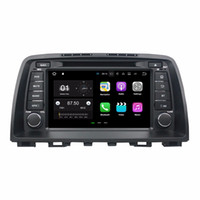 """Wholesale mazda car dvd gps android - 2GB RAM Quad Core 8"""" Android 7.1 Car DVD Car Audio DVD Player for Mazda 6 2012 2013 2014 With Radio GPS WIFI Bluetooth 16GB ROM DVR"""