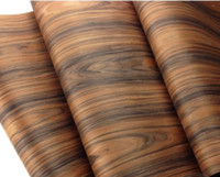 L:2.5Meters Width:60cm Acid Twig Bark Wood Veneer Loudspeaker Shell Veneer table cabinet sticker