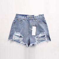 продажа летних дам оптовых-2018 новое прибытие случайные летние горячие продажа джинсовые женские шорты высокой талией меховой подкладкой ноги отверстия плюс размер сексуальные короткие джинсы D3-E001.