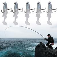 Wholesale 9cm soft lure for sale - 5pcs cm g D Eyes Lifelike Fishing Lure Treble Hooks Swimbait Artificial Hard Bait Lures Fish Lures With Strong Sharp Hooks