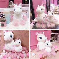 ingrosso bambola di sakura-Fashion Ins Internet Celebrity Sakura Unicorn giocattoli peluche Bella rosa Pony Doll regalo di compleanno Dare fidanzata T7I744
