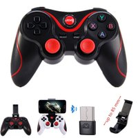 Wholesale tablet games for android resale online - X3 Wireless Bluetooth Gamepad Remote Control Joystick Game Controller For PC Phone Tablet Android Smartphone PK T3 S3