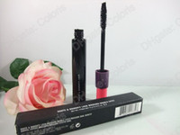 mascara doble extensiones al por mayor-Haute Naughty Lash Mascara Doble efecto Extensión Maquillaje Mascara WaterProof Black Mascara 9g por ePacked Shipping