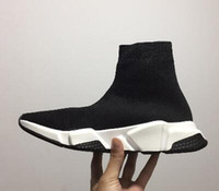 Wholesale buy cheap for sale - Buy Cheap Speed Knit Sock Sneakers Men s Speed Trainer Funny Sock Boots Women Socks Shoes Men knit sneakers Discount Shoe