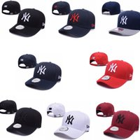 Wholesale Snapback S - 2018 Baseball Caps New York#yankees#s Embroidery Hip Hop bone Snapback Hats for Men Women hat Adjustable Gorras Casquette Unisex