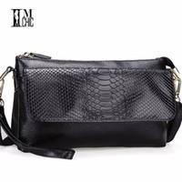 Wholesale Big Green Purse - Design Quality Leather Mini Shoulder Bags Crocodile Female Clutch Bag Women's Handbags Big Volume Organizer Purse Women Wallets