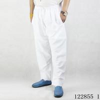 ближневосточная одежда оптовых-Новая мода мусульманские Мужские брюки молитвенные брюки афганские брюки ближневосточные Арабские костюмы Абая Дубай кафтан хлопок Исламская одежда