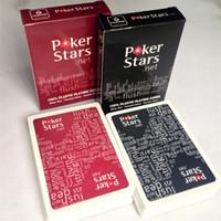 игральные карты texas оптовых-2 компл./Лот пластиковые игральные карты техасский холдем покер карты водонепроницаемый и скучный польский покер звезда настольные игры K8356