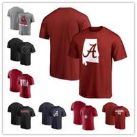 xxxl mascote venda por atacado-T-Shirt Alabama Crimson Tide 2018 Fanáticos Marcado Meia-noite Zona Neutra Mascote T-Shirt tamanho S-3XL frete grátis