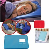 Wholesale multi massager - 2018 Summer Chillow Pillow ice cooling pad mat Therapy Insert Sleeping Aid pillows Muscle Relief Gel Pillow Ice Massager Water Filling bag