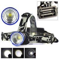 phare projecteur lampe zoom réglable achat en gros de-3800LM XML T6 LED Zoomable Phare 3 Modes Zoom USB Rechargeable HeadLight Lampe Réglable Lampe de torche pour Camping En Plein Air Randonnée