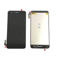 yenilenmiş lg toptan satış-LG Aristo 2 için lcd ekran dokunmatik ekranlar yenilenmiş 5 Adet / Lot çevrimdışı sipariş karışımlarıdırlar
