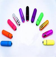 детские игрушки для мальчиков оптовых-Мини-AV пули беспроводной водонепроницаемый вибрационный анальный яйцо женский массажер тела G-Spot вибраторы секс-игрушки, Audlt продукты цвета