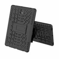 schwere s3 groihandel-Für Samsung Galaxy Tab E T560 A 10,1 T580 9,7 T550 Tab S2 T810 TAB S3 9,7 Hybrid KickStand Impact Robustes Heavy Duty TPU + PC-Gehäuse 40St