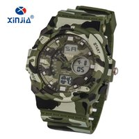 6ba006bd368 Wholesale green plastic soldiers for sale - New XINJIA Army Sport Watches  Soldier Camouflage LED Digital