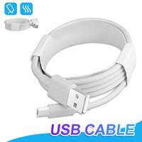 cables usb al por mayor-Línea de datos de cable micro USB de alta calidad 1M 2M 3M 3FT 6FT 10FT Cable de carga de alta velocidad tipo C para Samsung S8 S9
