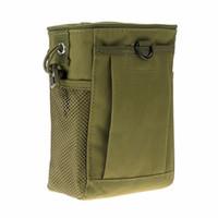 despejo de saco venda por atacado-Recém Tático Saco Molle Tactical Magazine Dump Cinto Sacos de Utilidade Bolsa de Revista de Caça Utilitário
