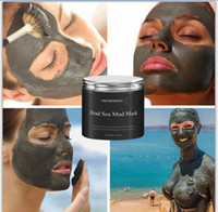 cuidado de la piel de las mujeres al por mayor-Mujeres calientes cara cuidado de la piel tratamiento facial 250g cuerpo puro productos naturales belleza mar muerto máscara de barro