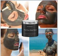 vücut bakımı toptan satış-Sıcak Kadınlar Yüz Cilt Bakımı Yüz Tedavisi 250g Saf Vücut Naturals Güzellik Ölü Deniz Çamur Maskesi