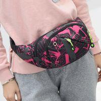 Wholesale purses water resistant online - Multifunctional Outdoor Waterproof Waist Bag Fashion Running Fanny Pack Zipper Bum Bag Case Travel Phone Purse OPP Bag Aicoo