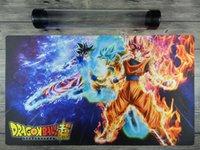 ingrosso palla di drago alto-Tubo di alta qualità gratuito di Dragon Ball Super Goku Playmat YuGiOh / MTG TCG