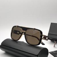 ingrosso scatola superiore trasparente-Nuovi occhiali retrò stile punk CZ661 designer tedesco vintage retro occhiali ottici trasparente lente di alta qualità con scatola originale