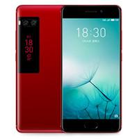 meizu için android toptan satış-Orijinal Meizu Pro 7 4G LTE Cep Telefonu 4 GB RAM 64 GB / 128 GB ROM MTK Helio X30 Deca Çekirdek Android 5.2