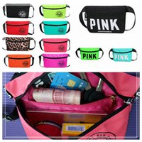 Wholesale outdoor sports 24 - 24 Colors Beach Waist Bag Small Pink Waistpack Purse Pocket Women Fashion Waterproof For Outdoor Sports DDA218