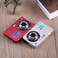 tft lcd digitalkamera lithium großhandel-18MP 2,7 Zoll TFT LCD HD 720P Digitalkameras Videorekorder 720P HD Kamera 8X Digitalzoom DV Anti-Shake